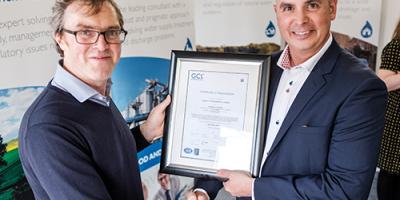 Envireau Water – ISO 9001 Certified